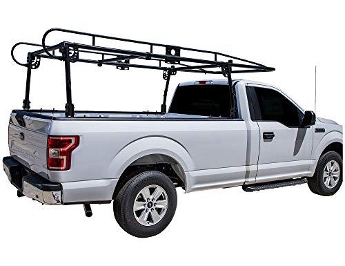 utility rack for trucks Buyers Products 1501150 Black Steel Truck Ladder Rack