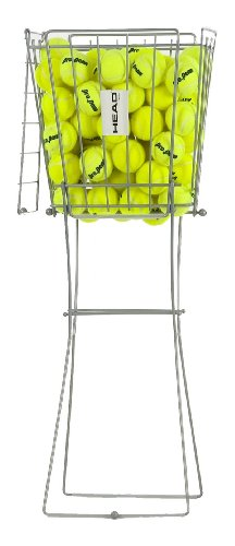 HEAD 72 Pro Tennis Ball Hopper - Lightweight Portable Pick Up Basket Holds 72 Balls