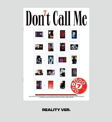 [ REALITY VER. 発送 ] SHINee - 正規7集 [ DON'T CALL ME ] ( PHOTOBOOK VER. ) シャイニー アルバム 韓国盤