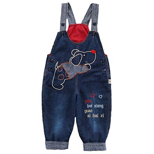 Mono de peto para bebé, niño, niña, pantalón vaquero, mono de algodón suave vaquero, pantalones de...