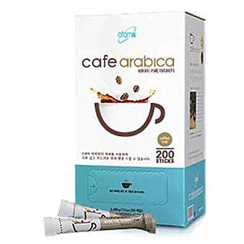 Atomy 200 Sticks Cafe Arabica Instant coffee mix Arabica Coffee & Natural Casein