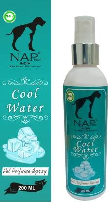 Nap Pet India Cool Water Flavour Refreshing Perfume for Dogs and Cats - 200 ml