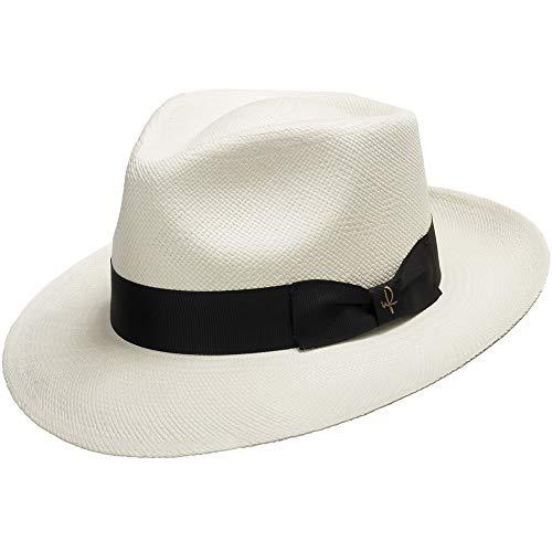 Big Sale PORTOFINO RETRO Panama White Straw Hat CROWN C