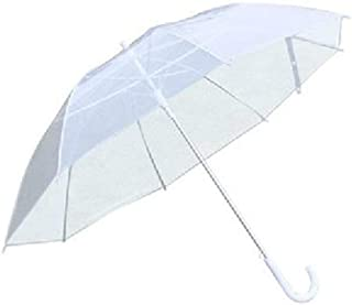 Lightweight Casual Portable Transparent Ladies Mini Sunny Umbrella Dome Suitable for Weddings