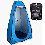 Pop Up Camping Shower Tent – Camping Bathroom Tent – Portable Changing Rooms – Privacy Pop Up Tent – Outhouse Tent – Camping Shower Tent with Floor – Camping Privacy Shelters - Shower Bag Included
