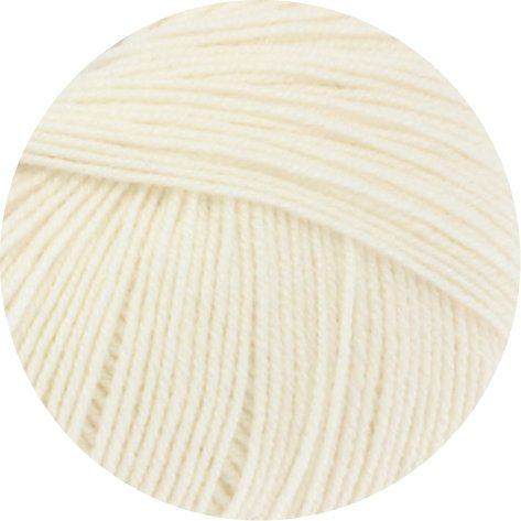 Lana Grossa Cool Wool Baby 50 g 213 - Rohweiß
