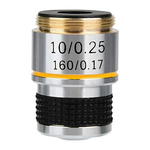 Maxmartt Microscope,10X 185 Biological Microscope Achromatic Objectives Lens 160/0.17