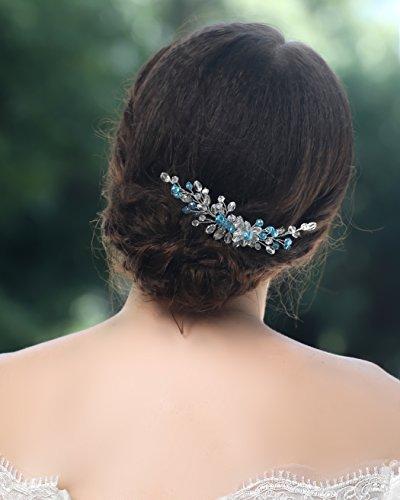 Peineta de Jovono, accesorios para el pelo, para novias y damas de...