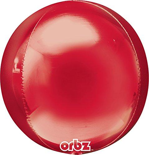Amscan 2820399 Orbz-ballon (rood)