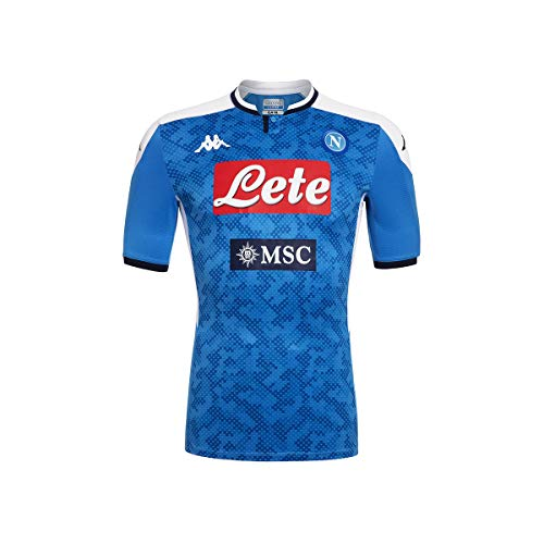 Kappa Maglia Gara Home 2019/2020 Camiseta De Juego, Hombre, Azul, XXL