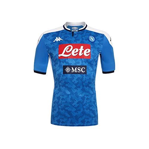 Kappa Maglia Gara Home 2019/2020 Camiseta de Juego, Hombre, Azul, XL