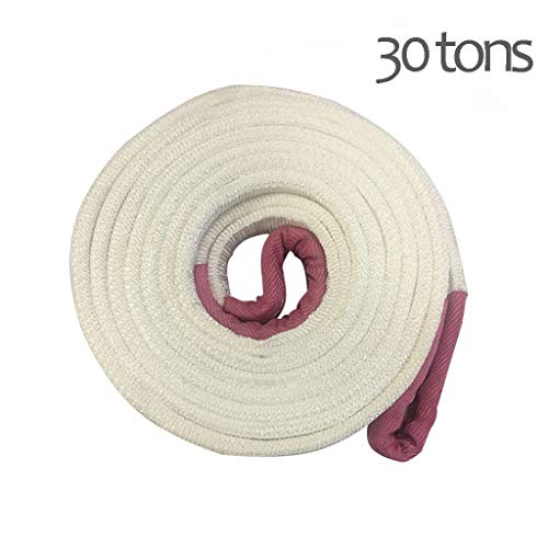 Sale!! Tow Rope Off-Road Vehicle Traction Rope Double Thick Trailer 30 tons of Tow Rope (Size : 4m)