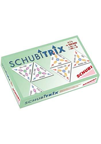 SCHUBITRIX Mathematik: Multiplikation und Division mit großen Zehnerzahlen