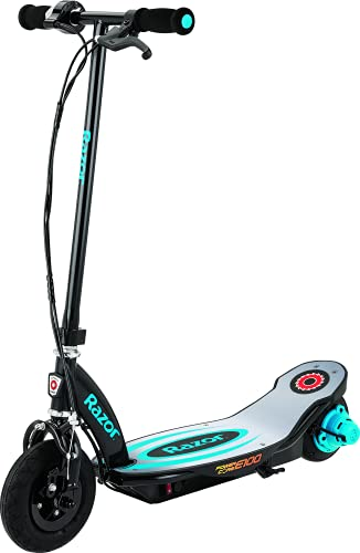 Razor Power Core E100 Electric Scooter - Aluminum Deck - Blue