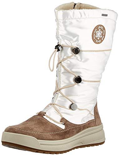 ARA Damen Aspen 1219753 Schneestiefel, Weiß (Teak,Offwhite 66), 38 EU