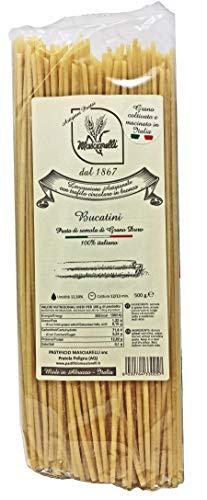 Bucatini pasta straws Single Pack - Imported artisan Italian Pasta from Abruzzo Italy, 500 grams per pack, Linea Classica Pasta...