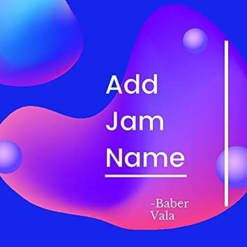 Add Jam Name