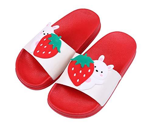 Pantofole da Bagno Ciabatte da Spiaggia Sandali A Punta Aperta Ragazzi e Ragazz per Bambini Pantofole da Interno E da Esterno Sandali Estivi EU 31/32 = Etichetta 32/33