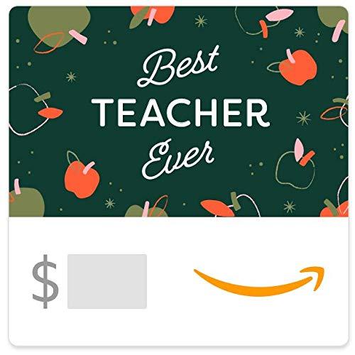 Amazon eGift Card - Best Teacher Apples