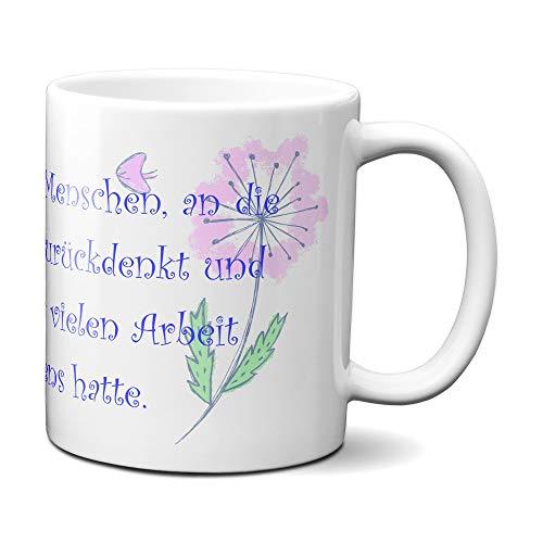 Kaffeetasse Kaffeebecher - Für die besten Kollegen und Freunde zum Abschied