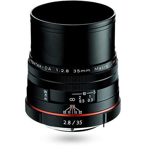 HD PENTAX-DA 35mmF2.8 Macro Limited ブラック 等倍マクロ 標準レンズ, DA リミテッドレンズシリーズ, アルミ削り出しボディ, 小型軽量設計, APS-C専用設計, HDコーティング, ボディ内手ぶれ補正機構搭載 ペンタックス一眼Kシリーズ 21450