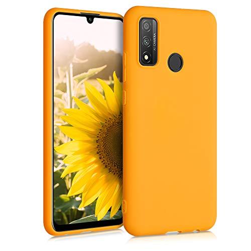 kwmobile Custodia Compatibile con Huawei P Smart (2020) - Cover in Silicone TPU - Back Case per Smartphone - Protezione Gommata Giallo Zafferano
