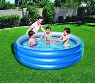 51043 Piscina inflable Bestway 3 anillos 201 x 53 cm reflectante interior: Amazon.es: Hogar