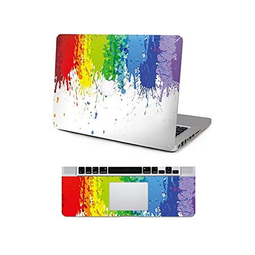 Textura de la pintura protectora de vinilo para MacBook Pro Air Mac Retina Sticker 11 '13' 15' cubierta de calcomanía A2337-Top teclado cubierta-retina13 A1425 A1502