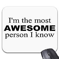 I ' m最も素晴らしいマウスパッドスタイリッシュなオフィスアクセサリー(9 X 7.5インチ)
