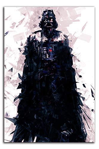YITUOMO Star Wars Pannel Decoración de pared de 30,5 x 45,7 cm, póster de Darth Vader de David Prowse decoración de pared para dormitorio de niños y niñas, sin marco