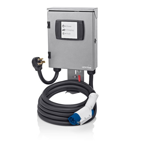 Leviton EVB32-8ML Evr-Green 320 7.7 Kilowatt Charging Station with 18-Foot Cable