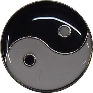 2x Yin Yang badge avec Livraison gratuite