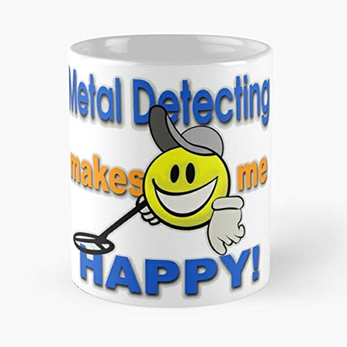 Hockey Detecting Best Shop Shirt Awesome Metal Detectorist Pulltab Detection T Novelty Shooter Shirts Coin Best 11 oz Kaffeebecher - Nespresso Tassen Kaffee Motive