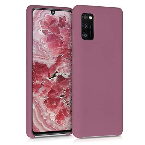 kwmobile Hülle kompatibel mit Samsung Galaxy A41 - Hülle Handyhülle gummiert - Handy Hülle in Deep Rusty Rose