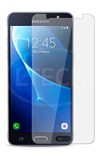 [2Pack] screenzies® Samsung Galaxy J52015Templado Anti Fingerprint–Protector de pantalla de cristal anti...