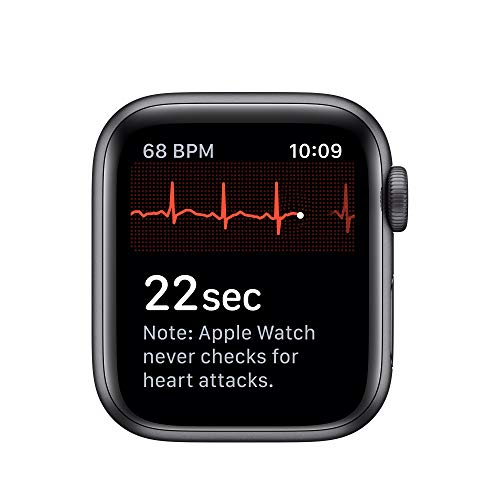 Apple Watch Series 5 (GPS+Cellular, 40mm) - Space Gray Aluminum Case with Black Sport Band 6