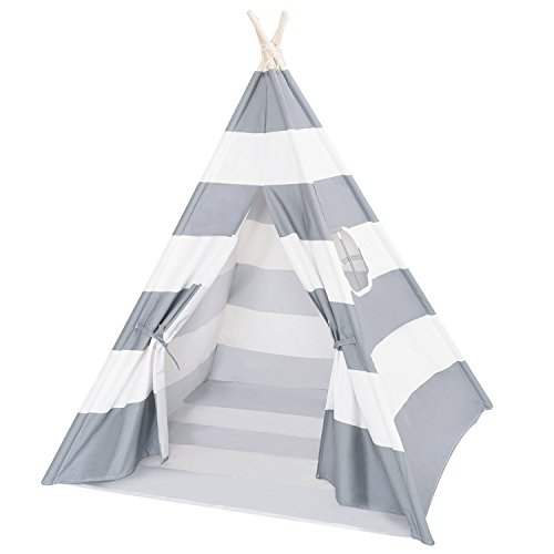 DalosDream Kids Teepee Tent with Mat &...