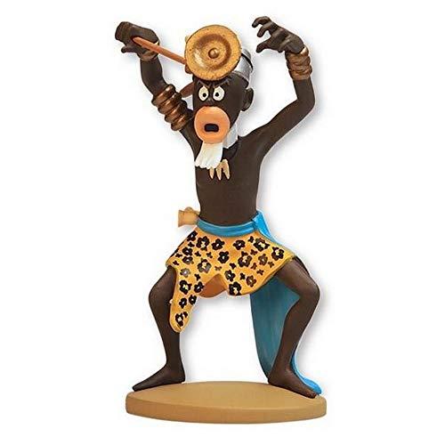 Figura de coleccin Tintn El hechicero Muganga Moulinsart 42225 (2019)
