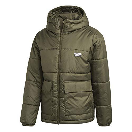 adidas R.Y.V. Utilitarian Jacket with Hood (Medium) Cargo Green