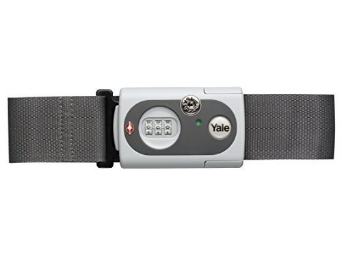 Yale TSA Luggage Strap, Grey by Yale