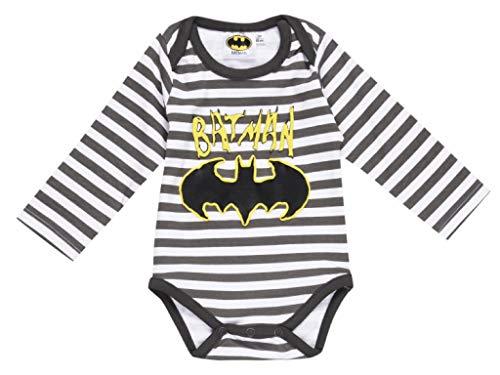 Body para bebé de Batman. Blanco 9 mes