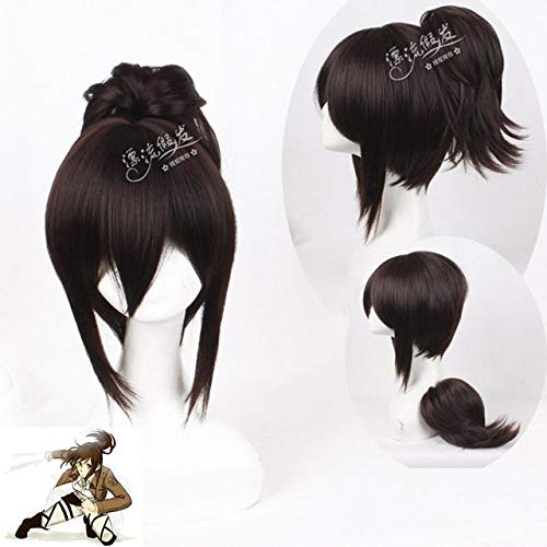 11 Styles Anime Attack On Titan Eren Mikasa Ymir Sasha Cosplay Wig For Halloween Synthetic Hair Cosplay Jean Kirstein Armin Wigs One Size Pl-185
