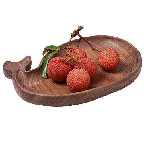 Paleta de Pizza Simple Bandeja multifunción de Pan de Pizza para el hogar Plato de Frutas secas de 8 Pulgadas Se Puede Usar como decoración