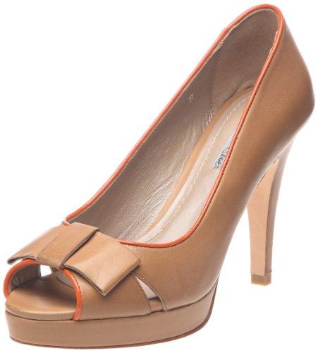 Tosca Blu Shoes Damen Iris 2 Pumps, Multicolore (591 Cuoio/Arancione), 41 EU