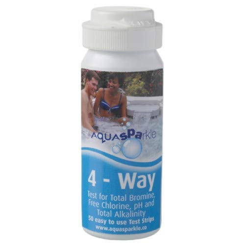 AQUASPARKLE 4 Way Test Strips for Pools, Hot Tubs and Spas