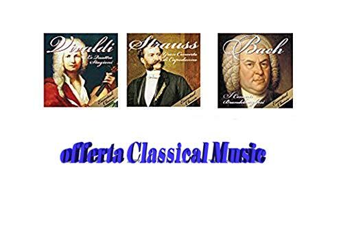3 CD Klassische Musik, konzerte und symphonien, Vivaldi, Strauss, Bach