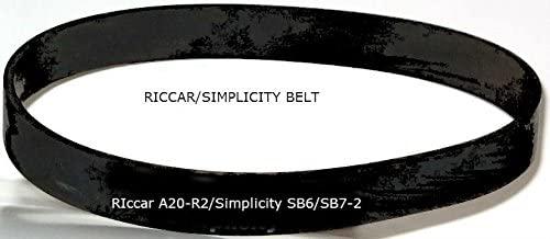 Simplicity Sb7-2 Vacuum Cleaner Belts