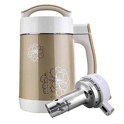 BGSFF Neue Haushaltssaftpresse Mixer Sojabohnenmilchmaschine, filterfreie automatische Sojamilchmaschine Multifunktionale intelligente Entsaftungsmaschine Doppelmahlung