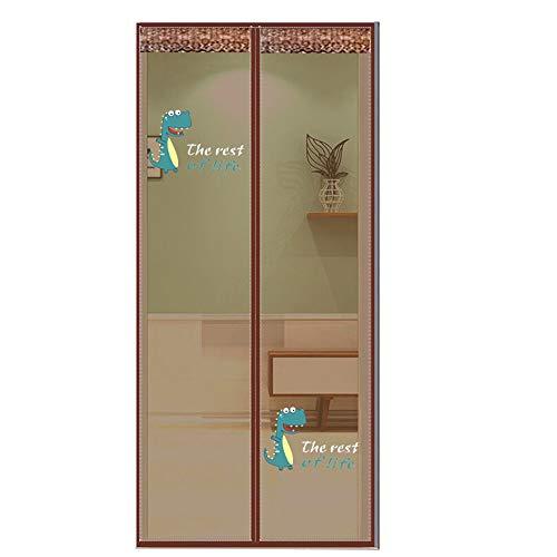 XUEER magnetisch deurscherm deur houdt insecten buiten muggendeur scherm zonder boren afdichting automatisch, weg te houden van muggen gordijn voor kamer