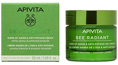 Apivita - Crema ligera antiedad iluminadora bee radiant